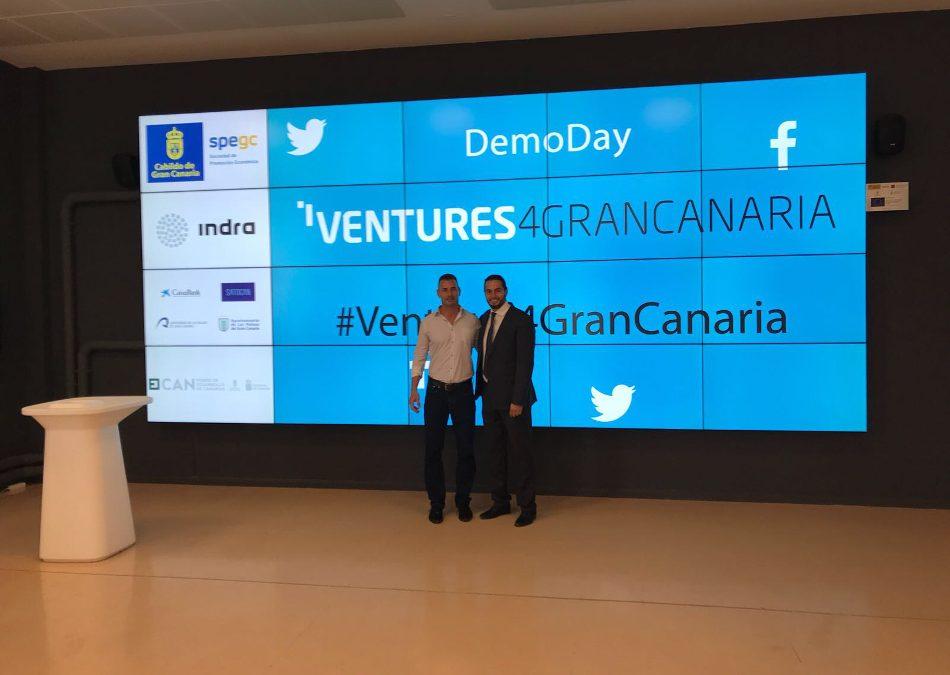Enrique Hernandez de AJE LAS PALMAS finalista en el Ventures4GranCanaria