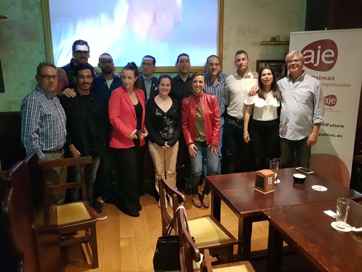 Reunión de networking birraje Las Palmas en Noviembre