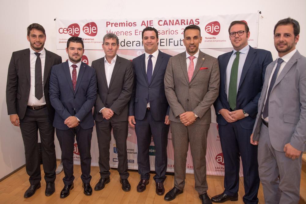 Premios AJE Canarias 2017