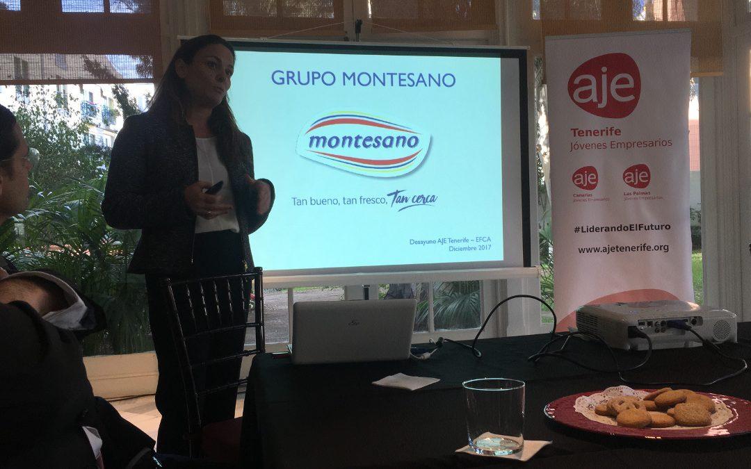 Desayuno de trabajo con Grupo Montesano y EFCA