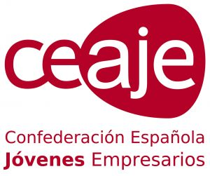 Logo CEAJE Confederación Española de Asociaciones de Jóvenes Empresarios