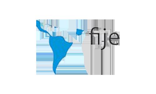 Logo FIJE Federación Iberoamericana de Empresarios también en Las Palmas