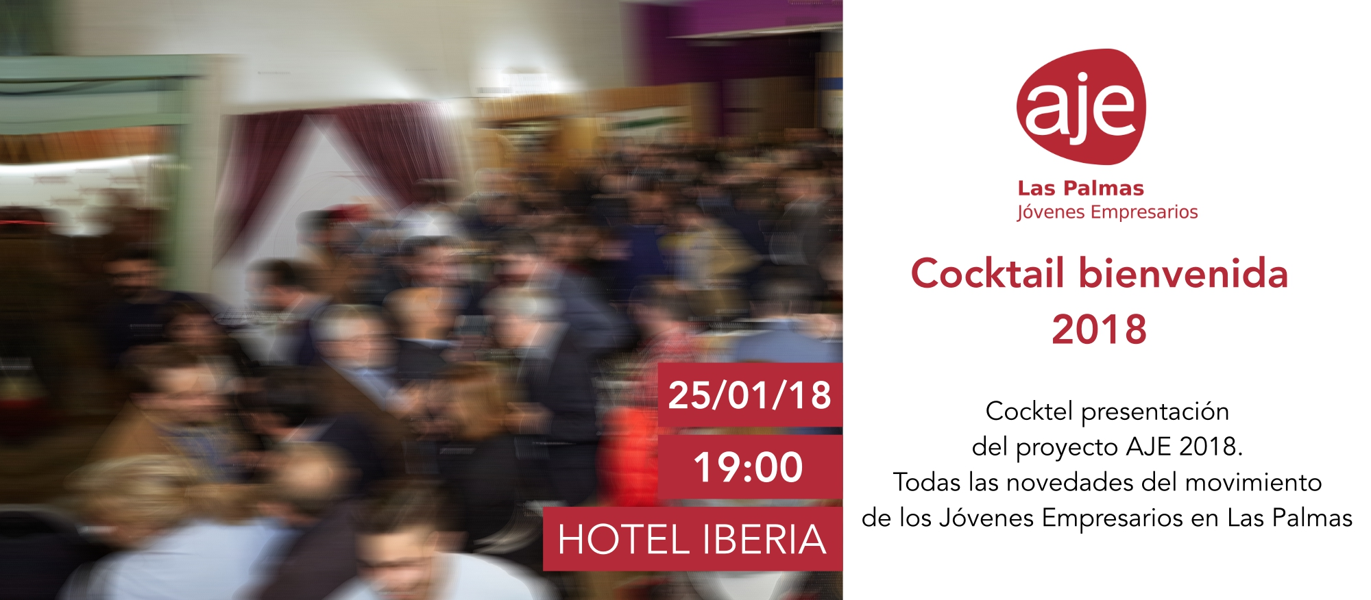 Cocktail bienvenida 2018 AJE Las Palmas