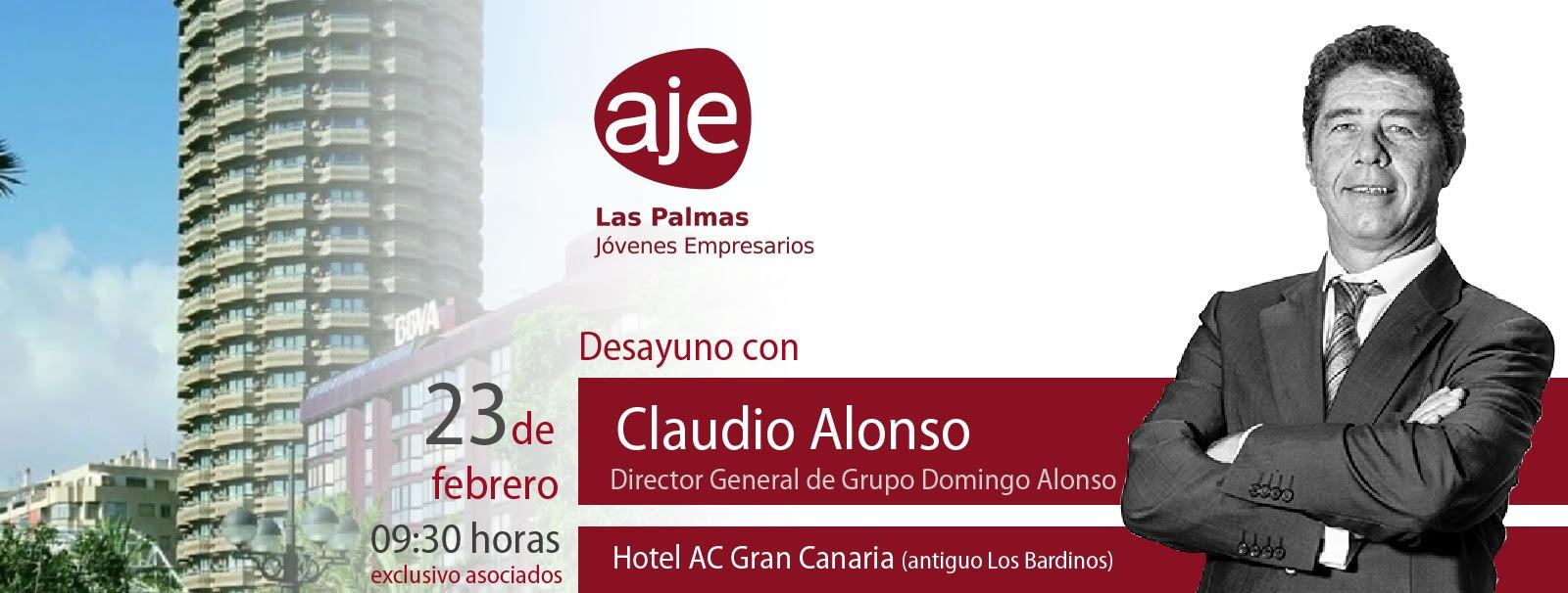 Desayuno de trabajo con Claudio Alonso y la Asociación de Jóvenes Empresarios de Las Palmas