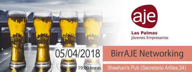 birraje networking aje las palmas abril