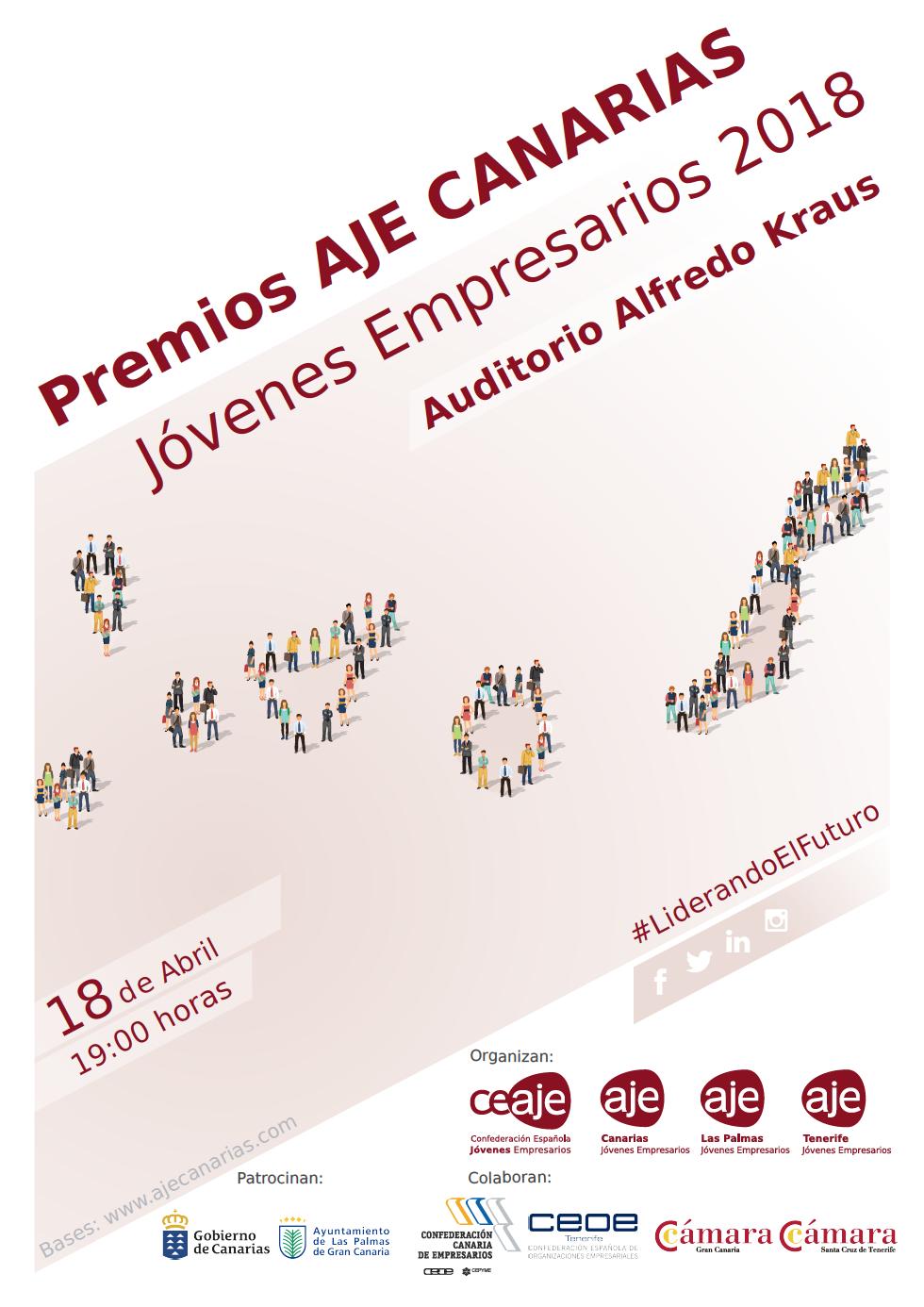 Cartel Oficial Premios AJE 2018