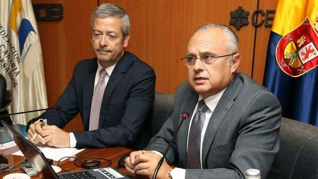 Desayuno de trabajo Aje Las Palmas y la Confederación Canaria de Empresarios