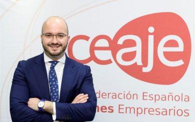 Entrevista a Fermín Albadalejo Presidente de la Confederación Española de Jóvenes Empresarios. CEAJE
