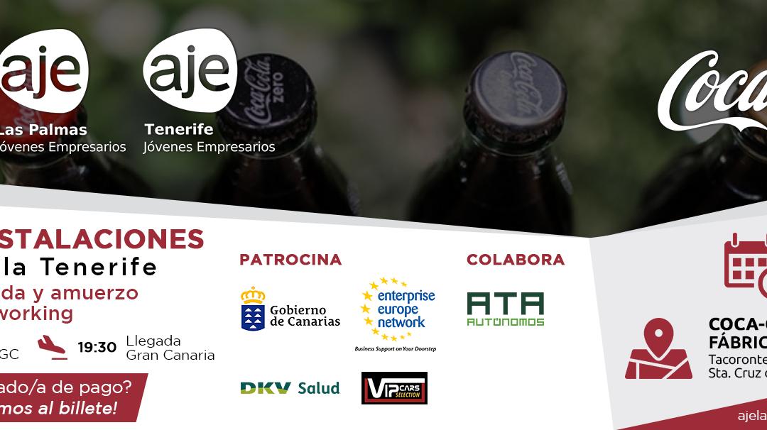 (SUSPENDIDO) AJE Las Palmas visita la Fábrica de Coca Cola