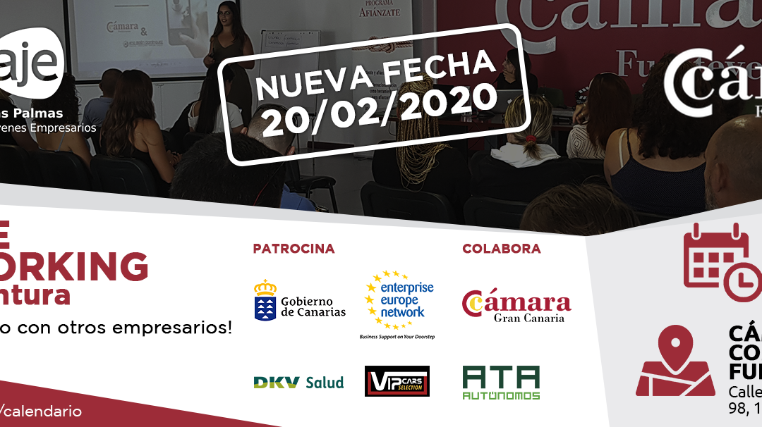 Birraje Networking en Cámara de Comercio de Fuerteventura
