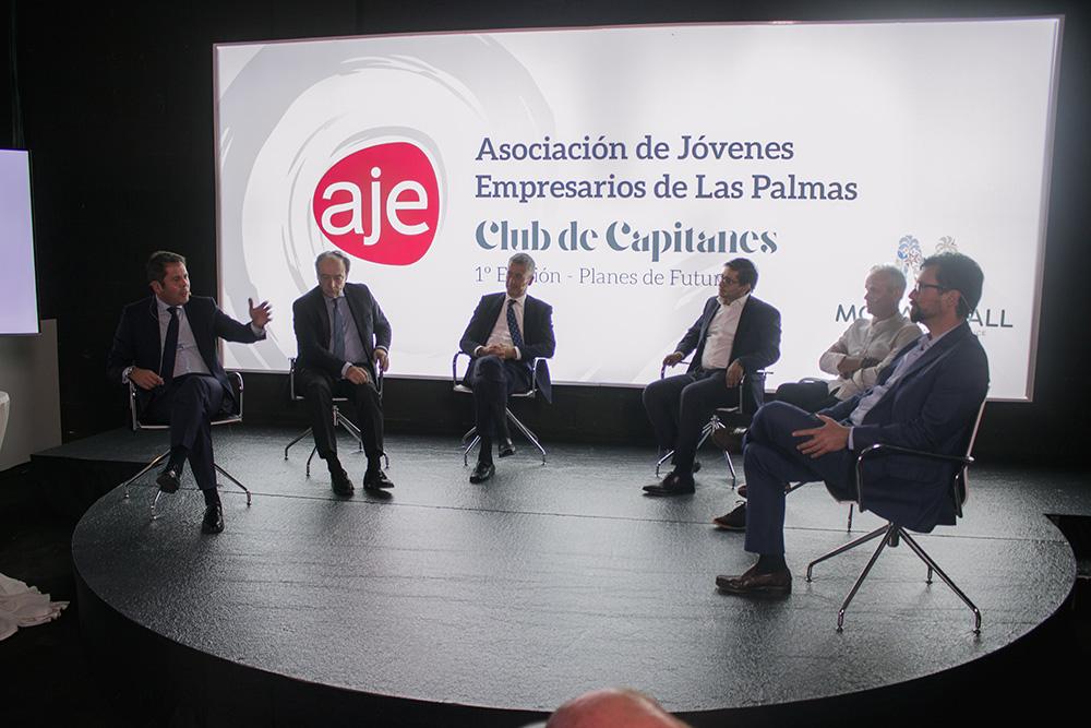 Aje Las Palmas Presenta: Club de Capitanes. Planes de futuro